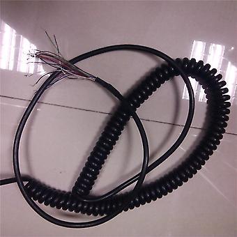 Miezuri bobinate de primăvară Spiral Shield Cabl