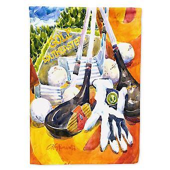 Caroline'S Treasures 6070Gf Clubs de golf du sud-est avec gants et ballons drapeau, petit, multicolore