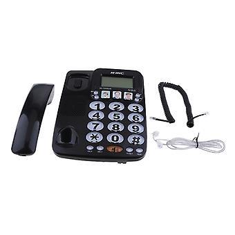Fast telefon, snabbuppringning förstärkt fototelefon Kx-2035cid