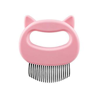 2Pcs rosa spesiell hår stripper for hunder og katter, kjæledyr langt hår og kort hår kam az4958