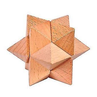 Sechseckige luban Lock Puzzle Spielzeug dt7525