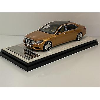 Mercedes Maybach S Class 2016 Gold 1:43 Scale Almost Real 420104