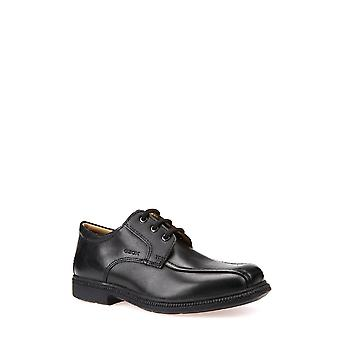 Geox Boys Federico Leather Shoes