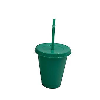 Creative Straw Paljettinen Glitter Cup