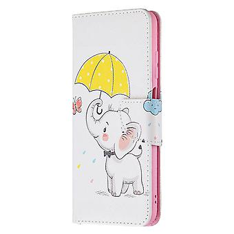 Samsung Galaxy A03s Case Pattern Magnetic Protective Cover Cute Elephant
