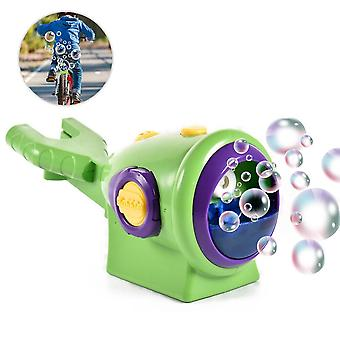 الدراجة فقاعة آلة التلقائي صانع منفاخ فقاعة تثبيت على دراجة للأطفال حمام الطفل