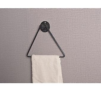 Håndklæde Ring Væg Monteret Square rustfrit stål badeværelse håndklæde rack køkken håndklæde rack hotel