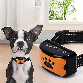 Intelligence Puppy Anti Bark Collar,no Shock Training Rechargeable Dog Bark Collar,vibration And Sound Anti Barking Collar For Dogs Deterrent