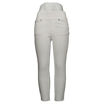 Belle av Kim Gravel Leggings Flexibelle Studded Vent Jegging White A374481