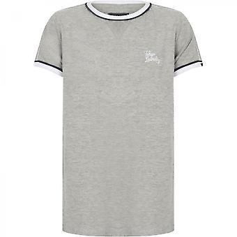 Boys Round-neck T-shirt Light Gray