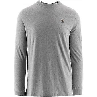 Paul Smith Grey Long Sleeve Zebra T-Shirts