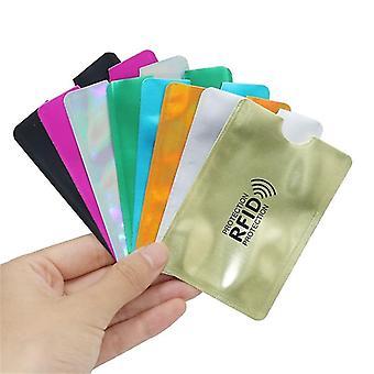 Mix Anti Rfid peňaženka blokovanie čítačka zámok držiteľa bankovej karty Id Prípad