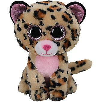 TY Beanie Boo Livvie leoparden 15 cm