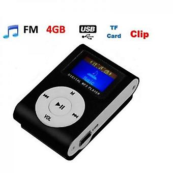Mp3 Player Lcd + 4 Gb / Go Card
