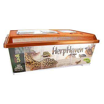"Lees HerpHaven Breeder Box - Plastic - Large - 17.75""L x 12""W x 7""H"
