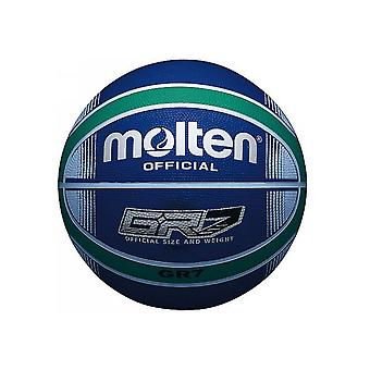 Sula BGR-sarja värillinen sisä-/ulkosininen/vihreä 12 paneelin nailonkoripallo
