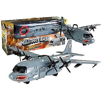 Army Toys - Flugzeug - 64 cm - mit Licht und Ton