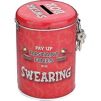 Piggy banks money jars christmas gifts instant fines pay up tin  swearing