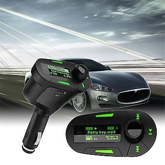 Автомобильный MP3-плеер Беспроводная музыка Fm-передатчик Модулятор USB и пульт дистанционного управления