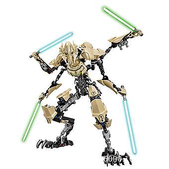 Ksz 714 General Grievous Toys Bambini Iego Giocattolo Star Wars 4 Mano Spada