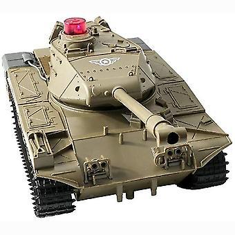 fjernkontroll tank 3km / t elektrisk rc bil rc kjøretøy maskingevær utendørs leketøy