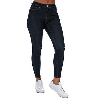 Sólo para mujeres Wauw Life Skinny Jeans en azul