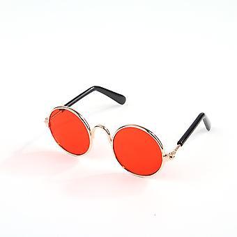 9cm okrúhle ochranné okuliare pre domáce zvieratá, slnečné okuliare pre mačky a psy, anti ultrafialové trendy a chladné doplnky,