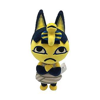 1pcs 20cm Animal Crossing Ankha Plush Toys Ankha Soft Stuffed Toy Dolls Anime Cartoon Pelucia Toys For Kids Children Gifts