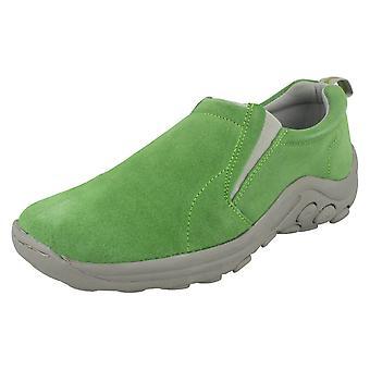 Ladies Spot On Slip On Shoe