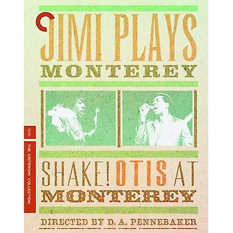 Jimi joue Monterey & Shake! Otis à l'importation USA Monterey [BLU-RAY]