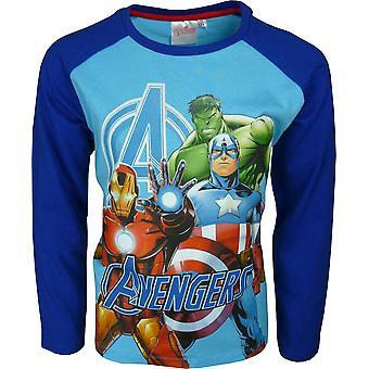 Boys Marvel Avengers Long Sleeve T-Shirt \ Top