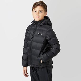Nowy chłopiec ' s burham izolowane kurtki dzieci płaszcz czarny