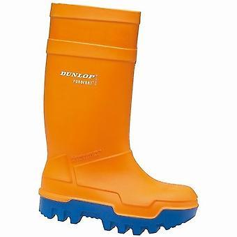 Dunlop C662343 Purofort Thermo + fuld sikkerhed Wellington / Herre støvler / sikkerhed gummistøvler