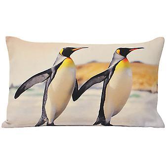 Riva hem djur pingviner Kuddfodral