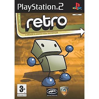Retro (8 Spiele) (PS2) - Fabrikversiegelt
