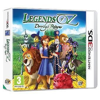 Legends of Oz - Dorothys Return (Nintendo 3DS) - New