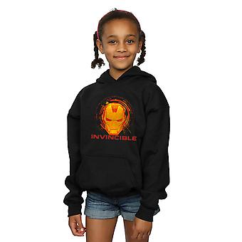 Marvel Girls Pomstitelia Iron Man Invincible Hoodie