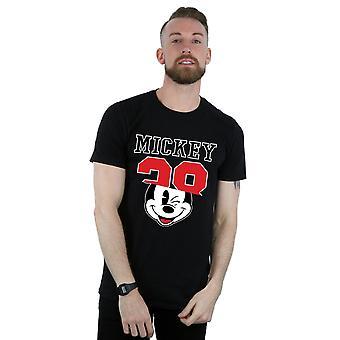 Disney Men's Mickey Mouse Split 28 Tişört
