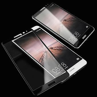 Kokonaan karkaistu lasi 0.26 mm ohut H9 isku musta Huawei P10 Plus suojakotelo uusi