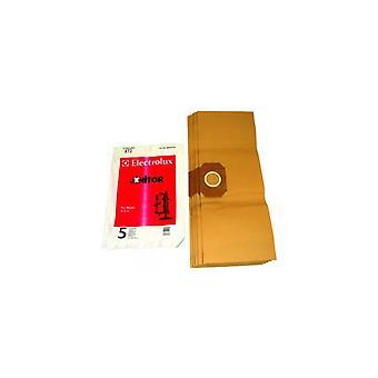 Bolsa papel Electrolux - paquete de 5 (E72B)
