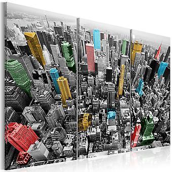 Obraz - Nowy Jork w kolorach CMYK