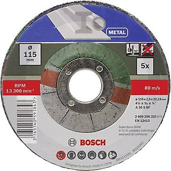Bosch Accessories A 30 S BF 2609256332 Cutting disc (off-set) 115 mm 22.23 mm 5 pc(s)