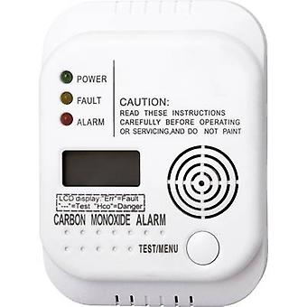 Smartwares RM370 SW Gas detector battery-powered detects Carbon monoxide