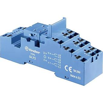 Finder 94. P3 Relay socket kompatibel med serien: Finder 55 Series, Finder 86 Series, Finder 094-serien Finder 55,32, Finder 55,33, Finder 86,30, Finder