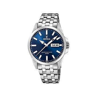 FESTINA - watches - men - F20357-3 - steel band classic - classic