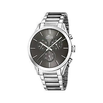 Lotus horloges mens watch klassieke minimalistische chronograaf 18114-2