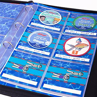 My Proud Moments Badge Holder Extra Page - Swimmers