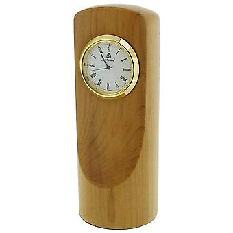 Gift Time Products Tall Desk Clock - Light Brown