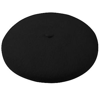 TRIXES Franse baret zwarte Fancy Dress thema hoed