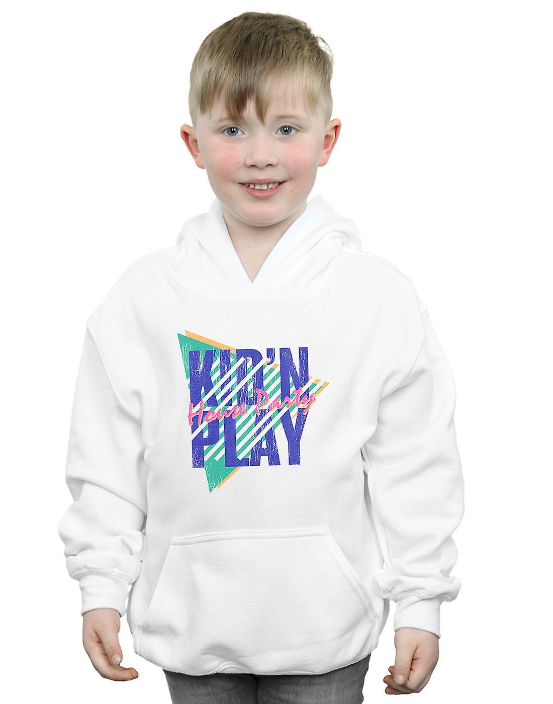 Kid N Play Boys House Party Stripes Hoodie